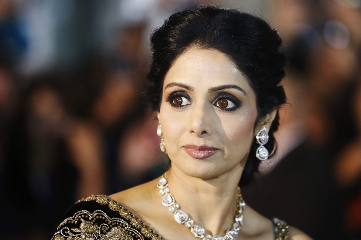 Actress Sridevi wins best actress - national film awards
