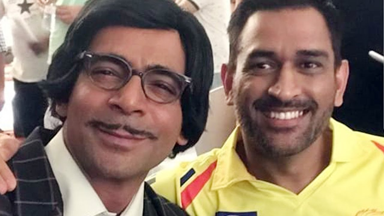 ms dhoni on sunil grover's show